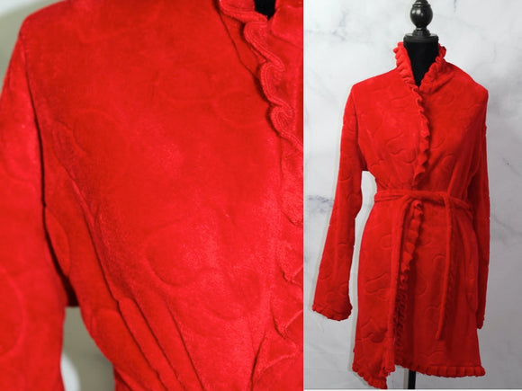 Cotton Red Robe