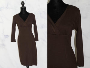 Ann Taylor Brown Sheath Dress (4)