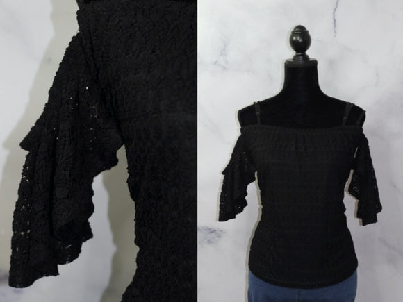 Black Batwing Sleeves  (M)