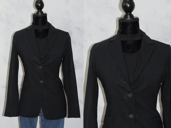 Banana Republic  Wool Navy Blazer (6)