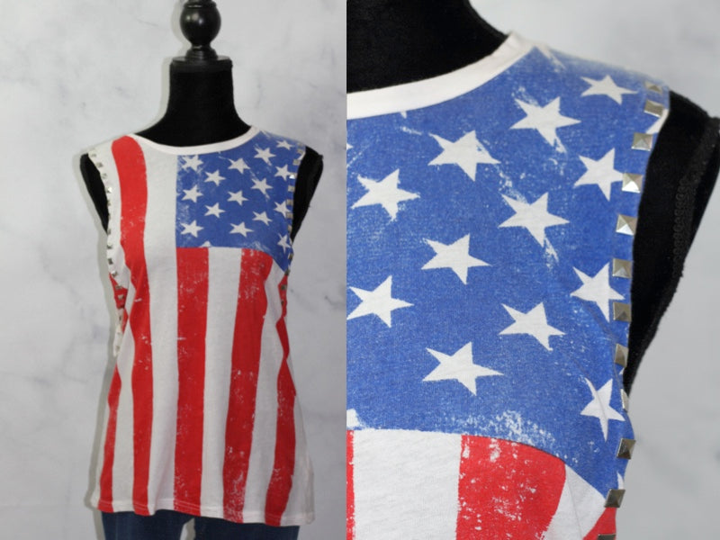American Sleevless Tank Shirt (S)