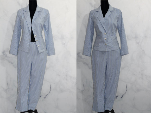 Status by Star Jones Stripe Pants Suit (12)