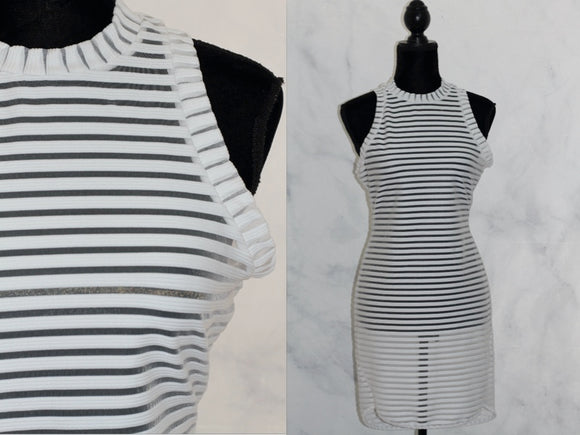 White Stripe Dress (14)
