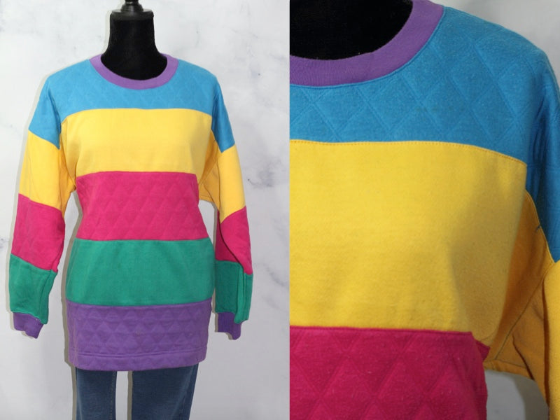Amanda Scott Multi Color Sweater (2XL)