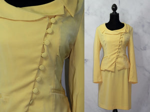 Metro Style Yellow Top & Skirt Set (10)