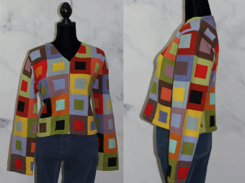 Susan Martin Multi Color Sweater (L)