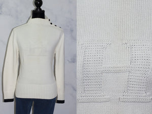 Tommy Hilfiger White Sweater (M)