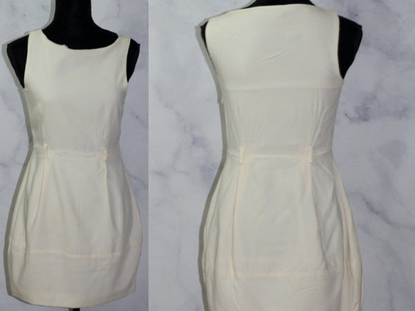 Theory Cream  A- Line Dress (4)