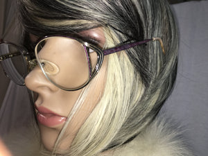 Aviator Silver Frames- Eyeglasses (Made in Italy) Frames