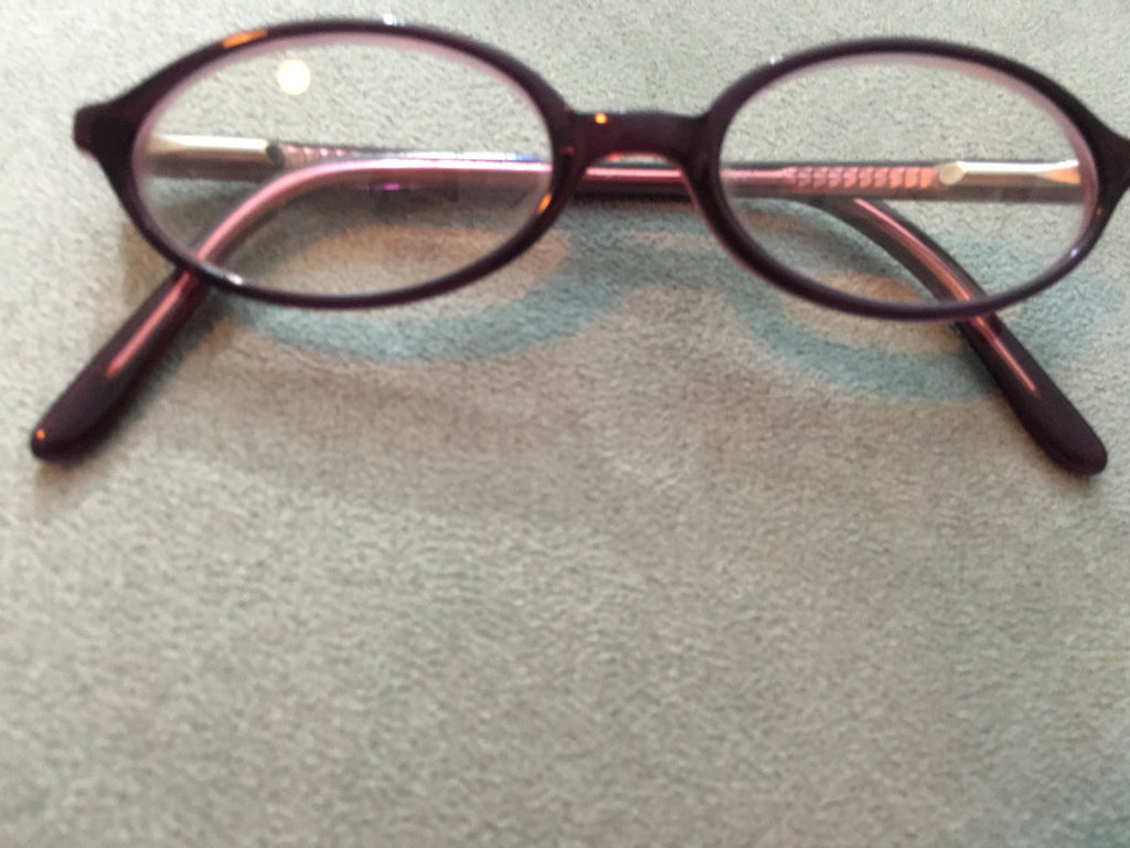 Purple  Round Kid Frame Eyewear