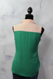 THML Two Tone Pink Green Blouse (XS)