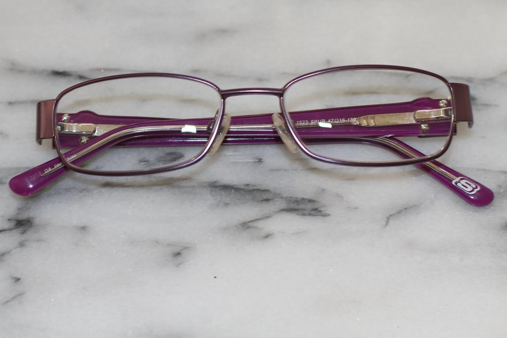 Sketchers Purple Glasses Frames