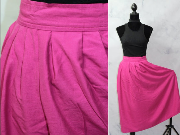 Katie Brook Hot Pink Skirt (14)