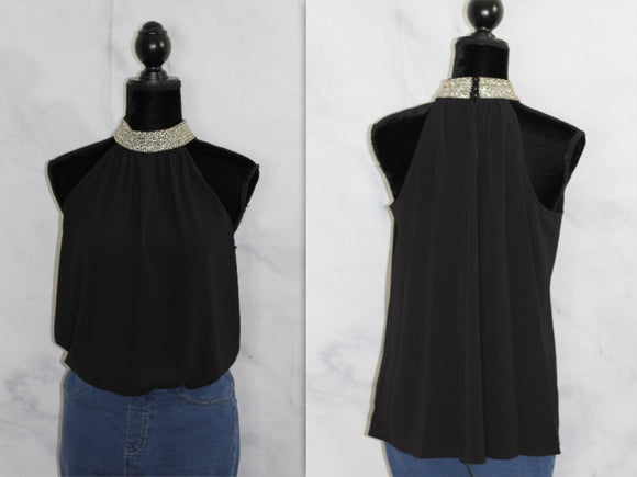 Worthington's Black Blouse (L)