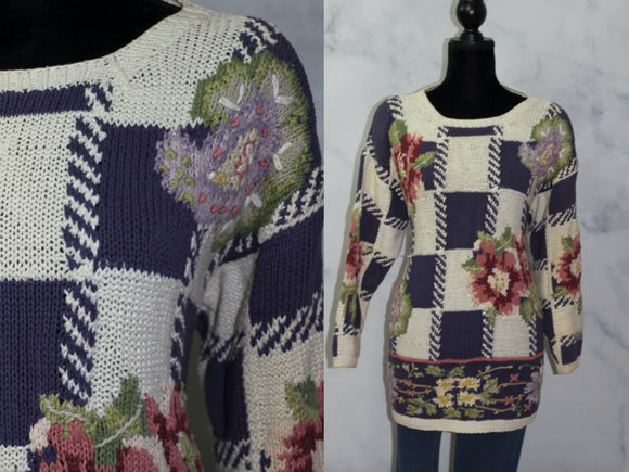 Jennifer Reed Knitted Sweater (L)
