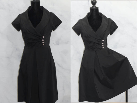 Julian Taylor New York Black Dress (8)