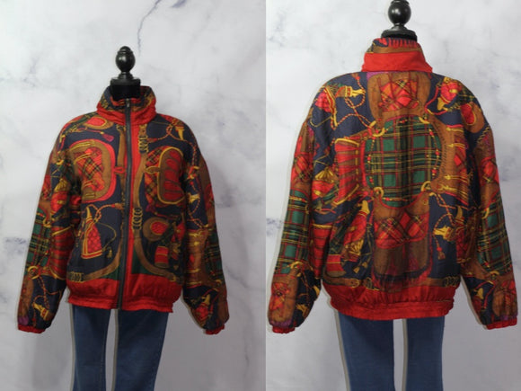 Silk N Counters Silk Windbreaker (L)