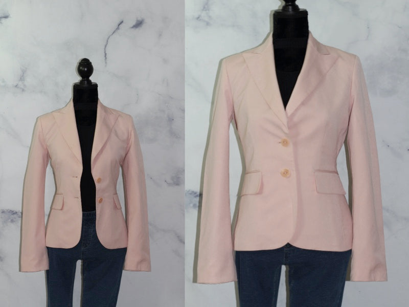 Ann Klein Suits Pink Blazer (4)