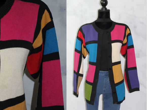 Chaus Sweater Multi Color (S)