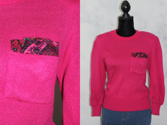 Anthony Sicari Pink Sweater (S)