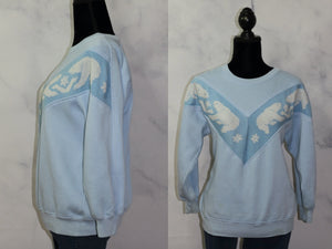 Fashion Force Icy Blue Polar Bear Sweater (M)