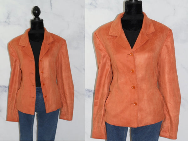 Talbots Orange Blazer (16)