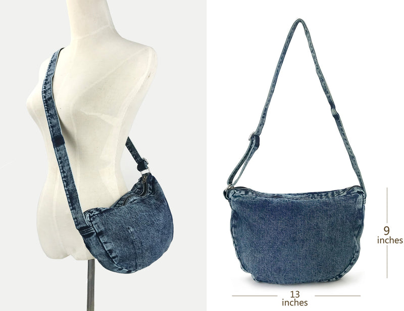 Denim Cross Body Bag