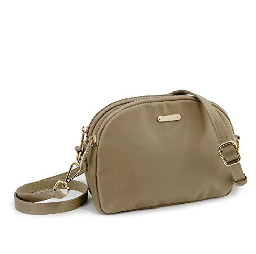 Lightweight Small Crossbody Bag Khaki