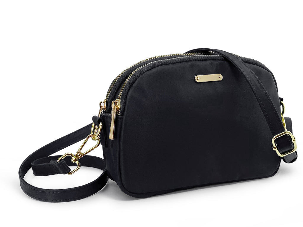 Lightweight Small Crossbody Bag Black