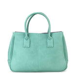 Hoxis Classical Office Lady Minimalist Pebbled Faux Leather Handbag Tote/ Magnetic Snap Purse - Hoxis Bags