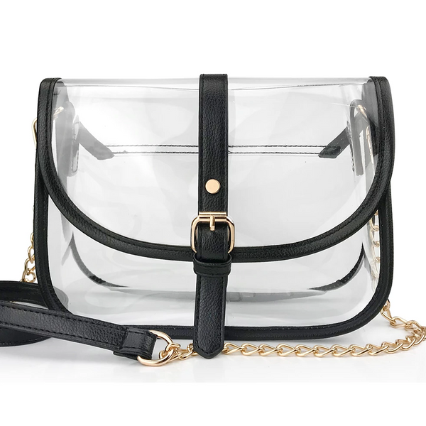 Clear Saddle CrossBody