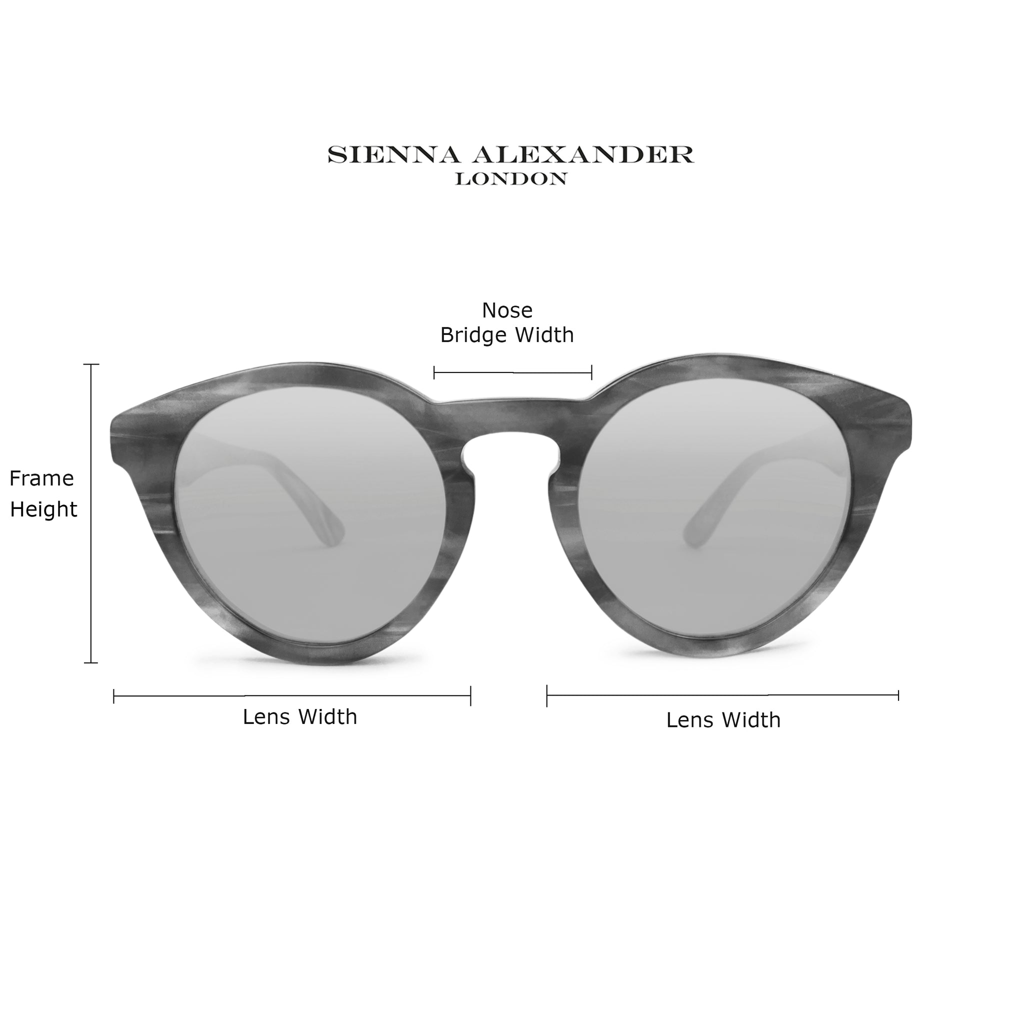 Sienna Alexander London - Size Guide