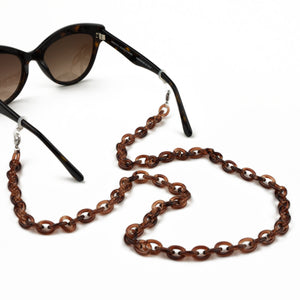 Sunglasses Chain / Dark Havana Thin