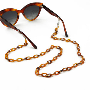 Sunglasses Chain / Light Havana Thin