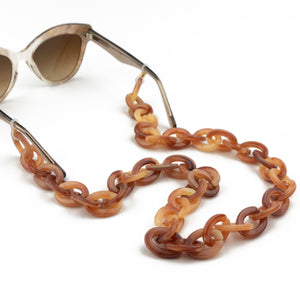 Sunglasses Chain / Milky Brown