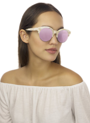 W1S MAYFAIR / MARBLE PINK - Fashion Women's Sunglasses Sienna Alexander London