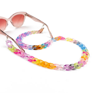 Sunglasses Chain / Rainbow