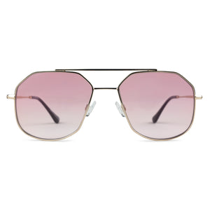 RETRO AVIATOR | PINK SEE THROUGH