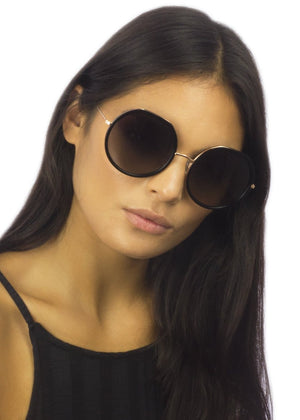 Round Oversized Sunglasses for women Model