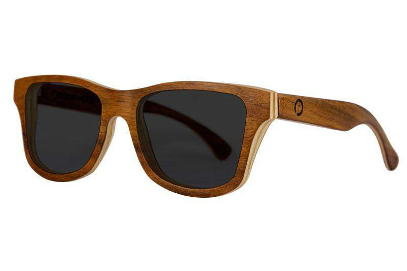 Wooden Sunglasses - Cassis - Rosewood Wooden Sunglasses