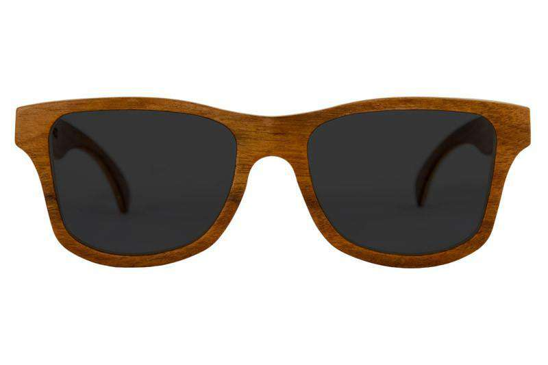 Wooden Sunglasses - Cassis - Rosewood Wooden Sunglasses side
