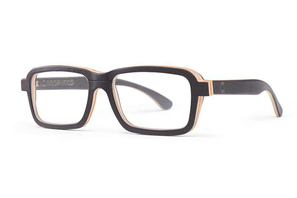 266a06f3a02 Lumo - Black Maple Wooden RX Frames