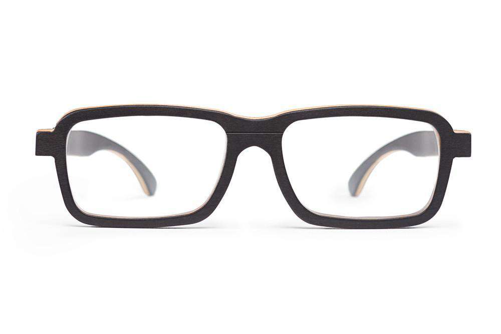 RX Frames - Lumo - Black Maple Wooden RX Frames