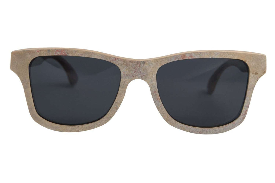 Cassis - Golden Slate Stone Sunglasses - Propwood