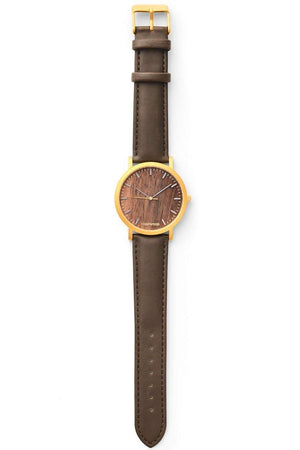 Watch - Walnut Wood Swiss Quartz Watch
