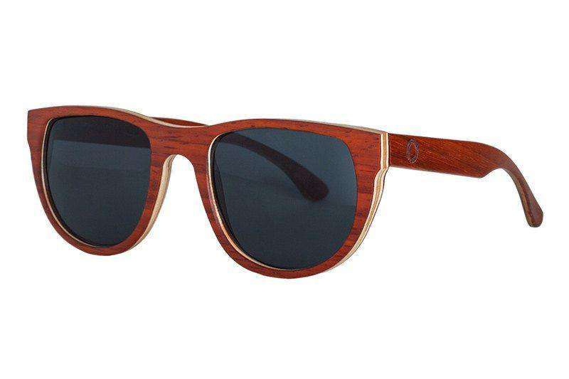 Wooden Sunglasses - Cres - Redwood Wooden Sunglasses