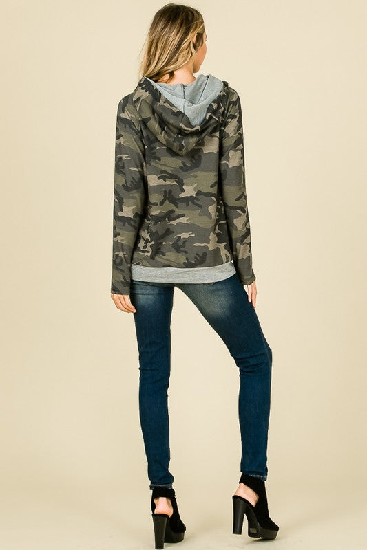 The Madison Camo hoodie