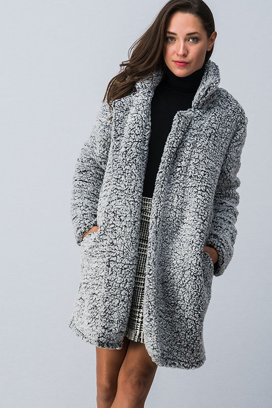 Your best life sherpa coat
