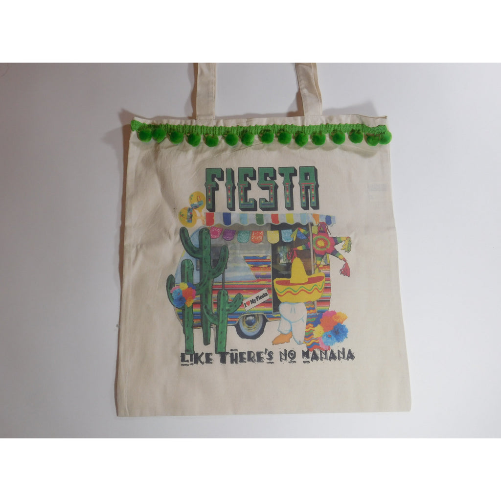 Fiesta like theres no Manana!!! Canvas Tote