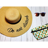 Do not disturb Sun hat!!
